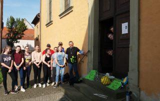 Ministranten aus Reupelsdorf bei der 72 Stunden-Aktion des BDKJ