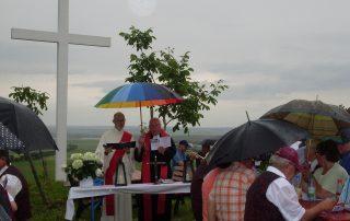 Ökumenische Andacht am Weißen Kreuz 2019