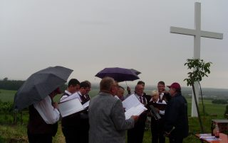 Ökumenische Andacht am Weißen Kreuz, Gesangsverein Altenschönbach