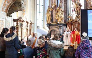 Familiengottesdienst - Jubiläum von Diakon Leierseder
