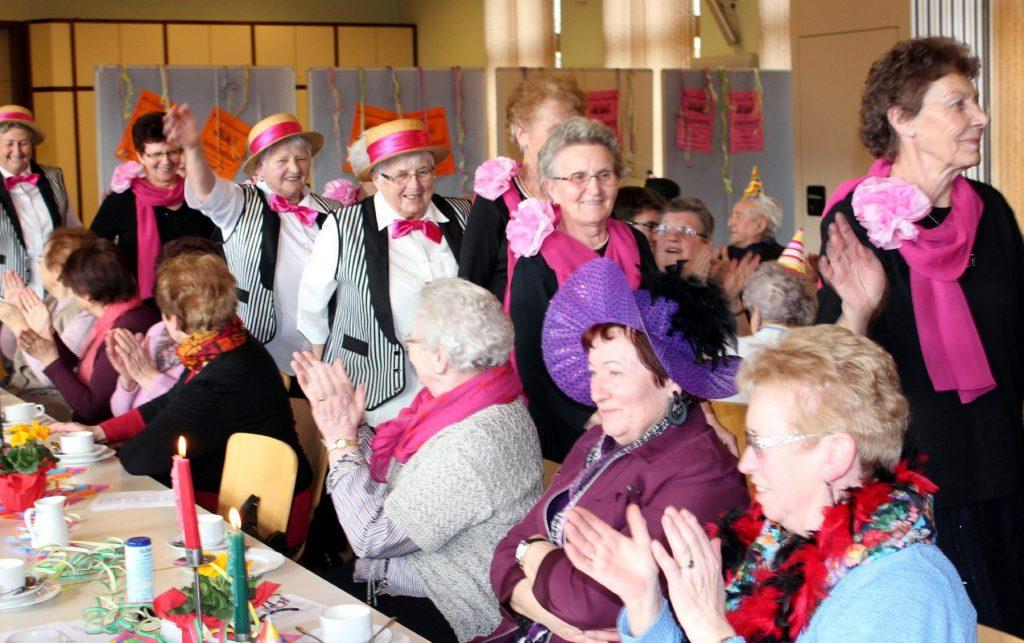 Seniorenfasching - einer der Höhepunkte im Jahresprogramm