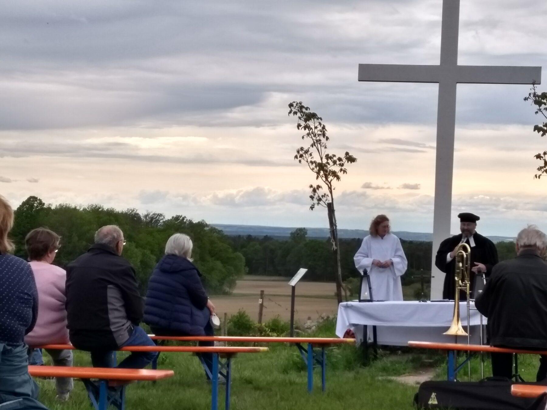 Andacht am Weißen Kreuz - zweites Bild