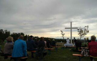 Andacht am Weißen Kreuz