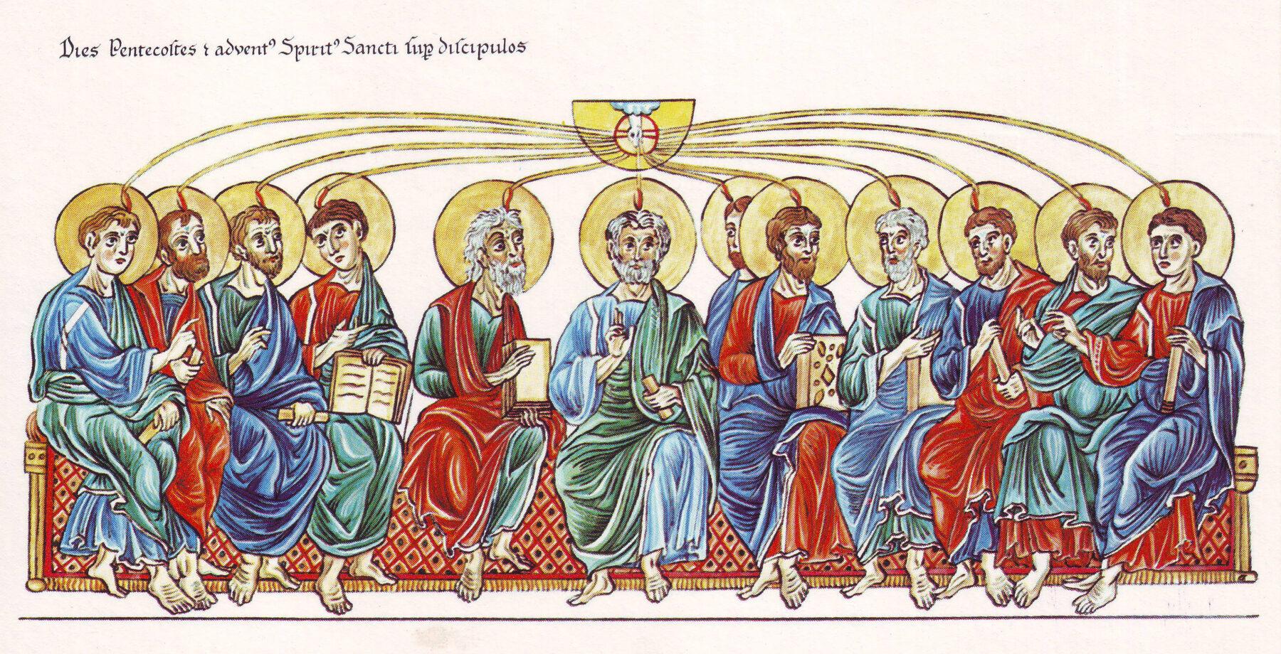 Pfingsten, heiliger Geist